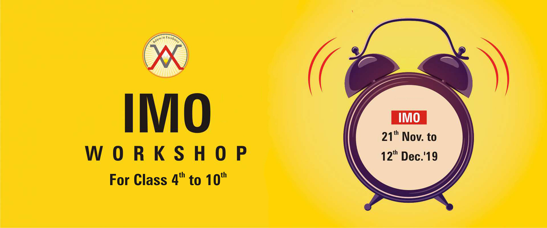 NSO & IMO WORKSHOPS